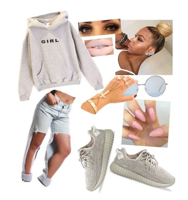 """""""I don't wanna go"""" by paigedenaiya ❤ liked on Polyvore featuring adidas Originals, women's clothing, women's fashion, women, female, woman, misses, juniors and SeductiveRebel"""