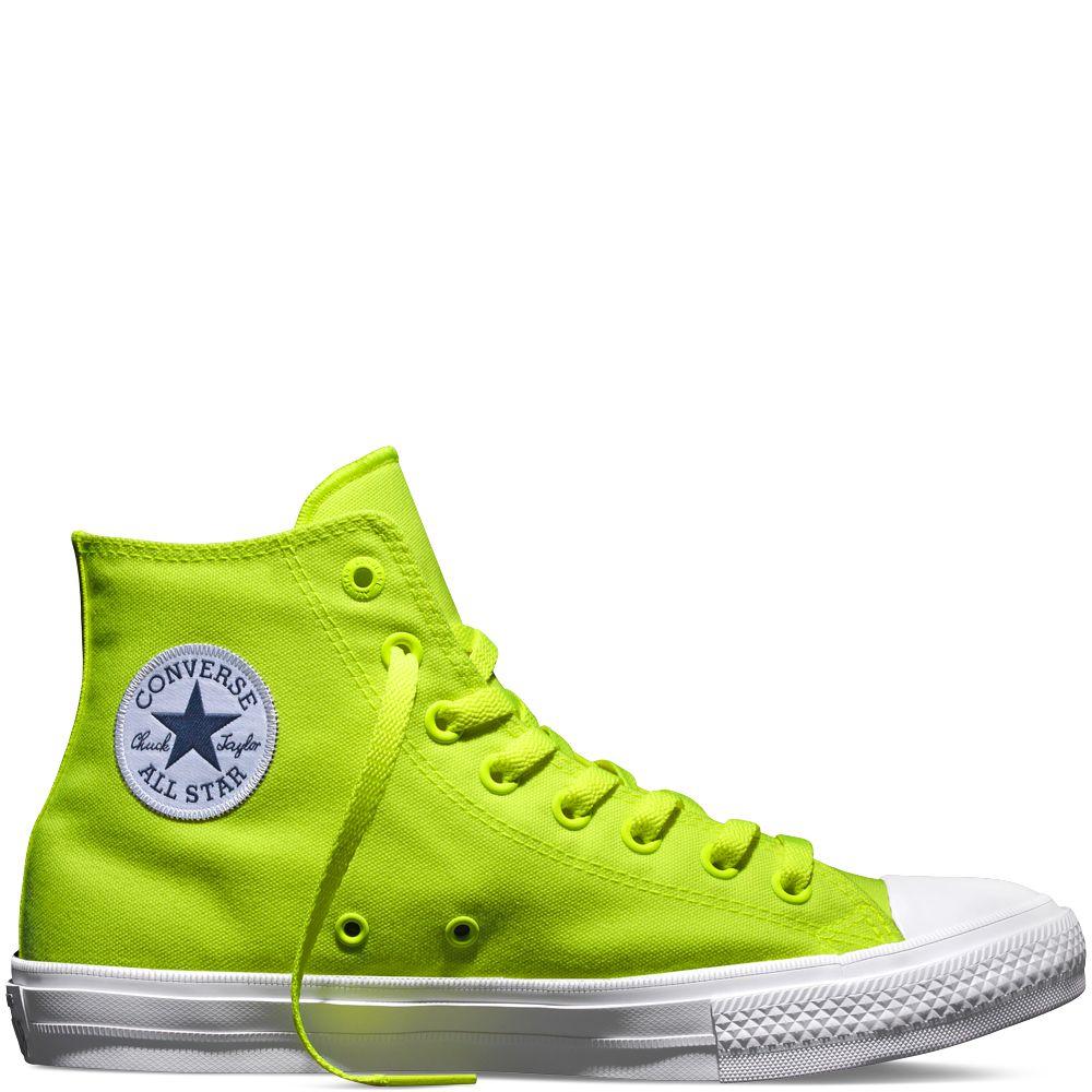 e625cb1f4a22c8 Chuck II Neon Volt volt green white