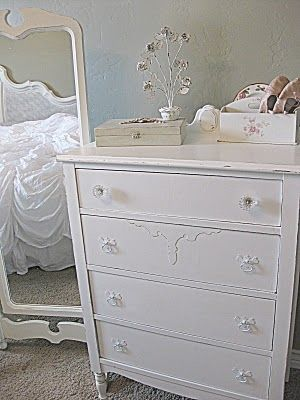 Pretty Little White Dresser Jmr