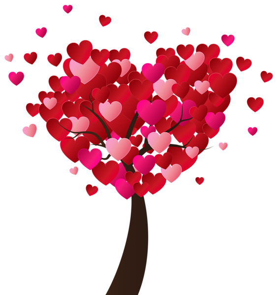 Valentine S Day Heart Tree Png Clip Art Image Clip Art Valentines Day Hearts Heart Clip Art