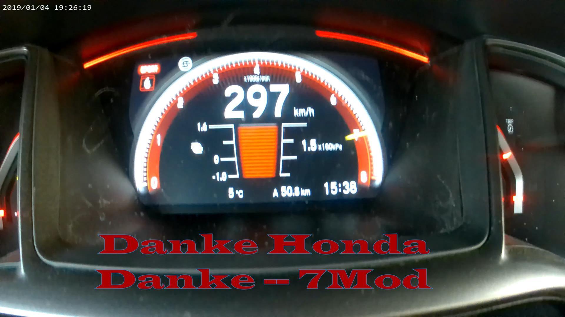 Hondy Civic Typer Fk8 Top Speed 297 Km H Honda Civic Honda Civic Type R Honda