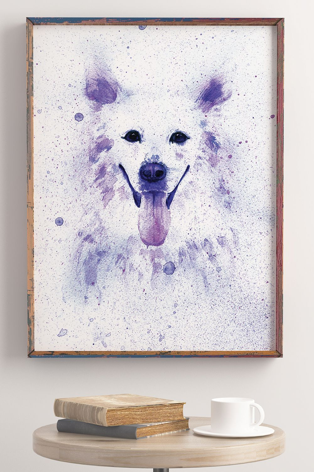 Watercolor Dog Wall Art For Nursery Kids Room Dog Wall Decor