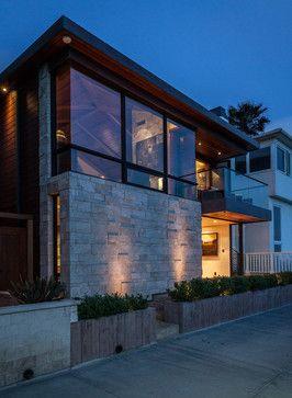 Beautiful Ocean Front Residence Designed By Beach House Design U0026 Development  Situated In Manhattan Beach, California.