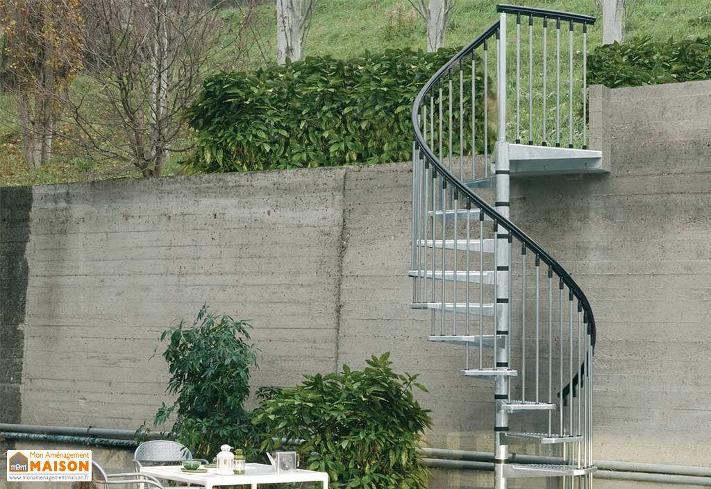 Escalier Helicoidal Escaliers Decors Escalier Exterieur Escalier Escalier Colimacon Exterieur