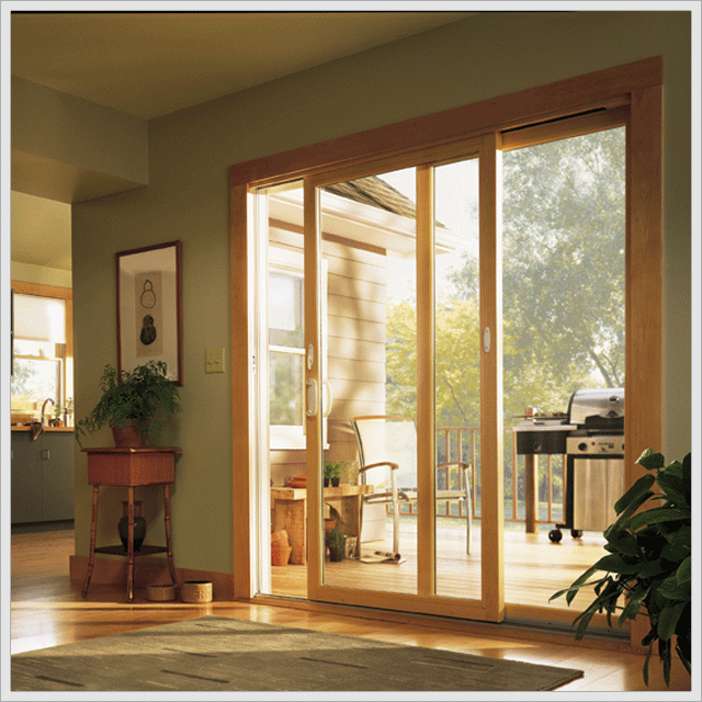 Attractive Sliding Glass Patio Door Is New Style Of Sliding Doors