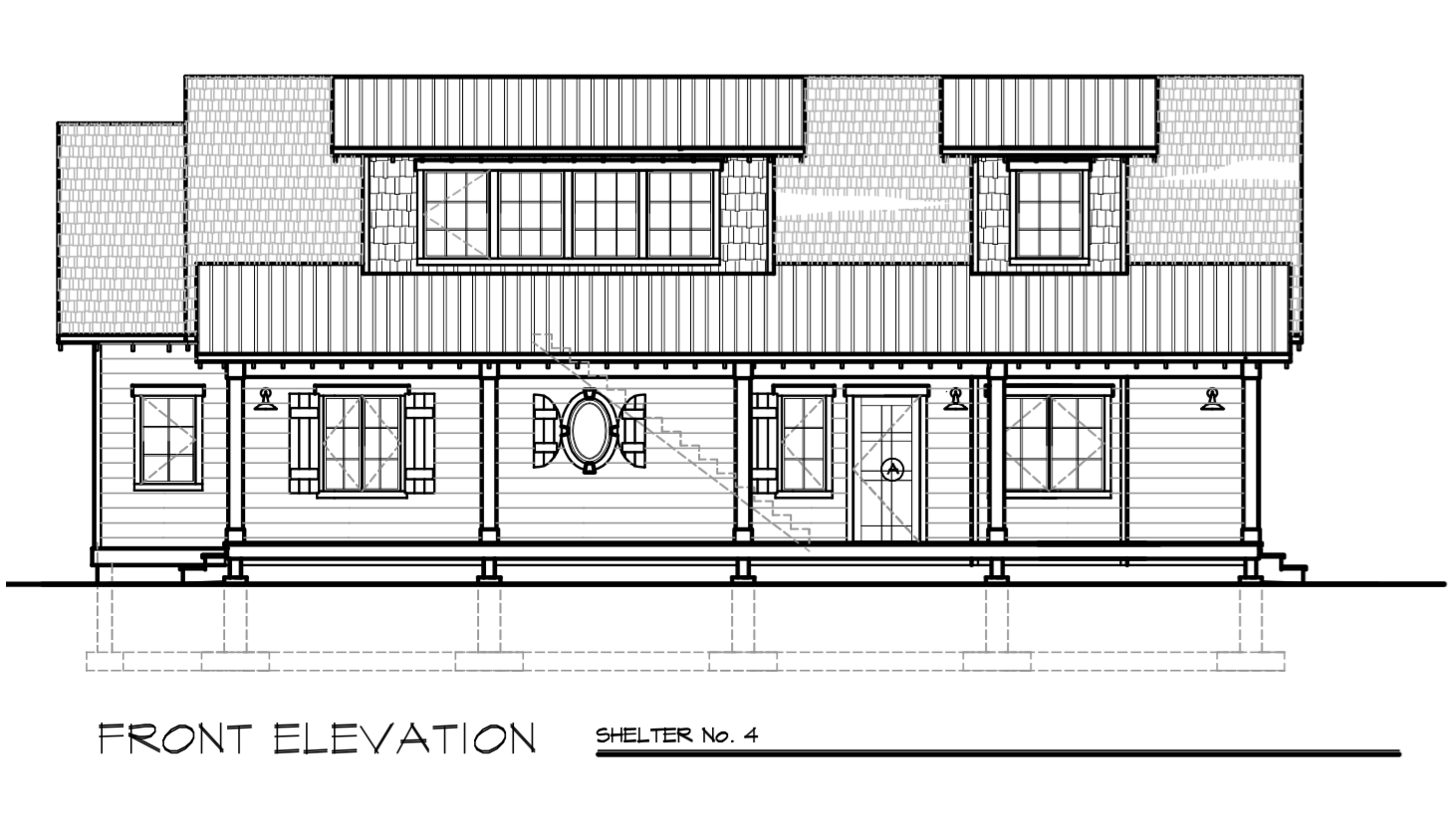Shelter No.4 Study Plan Small house plans, House plans