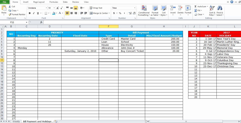 Bill Pay Schedule Template Elegant Professional Bill Pay Calendar Template Excel Tmp Schedule Template Paying Bills Excel Calendar Template Bill payment schedule template excel