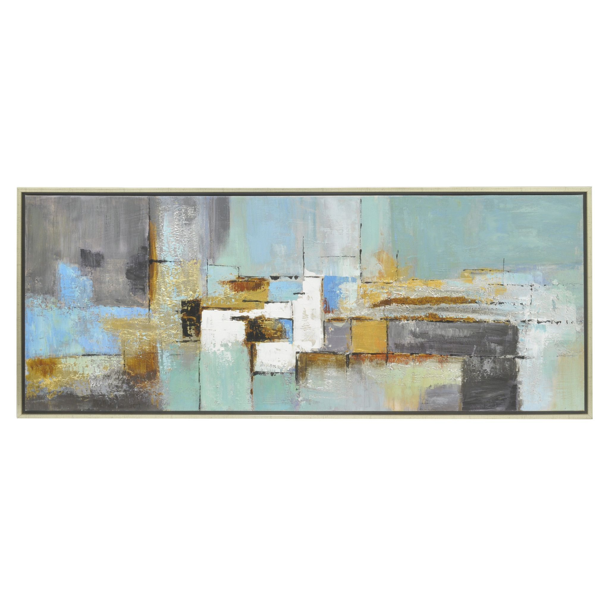 Three Hands Abstract Painting Framed - Oil On Canvas - 50431 | Oil ...