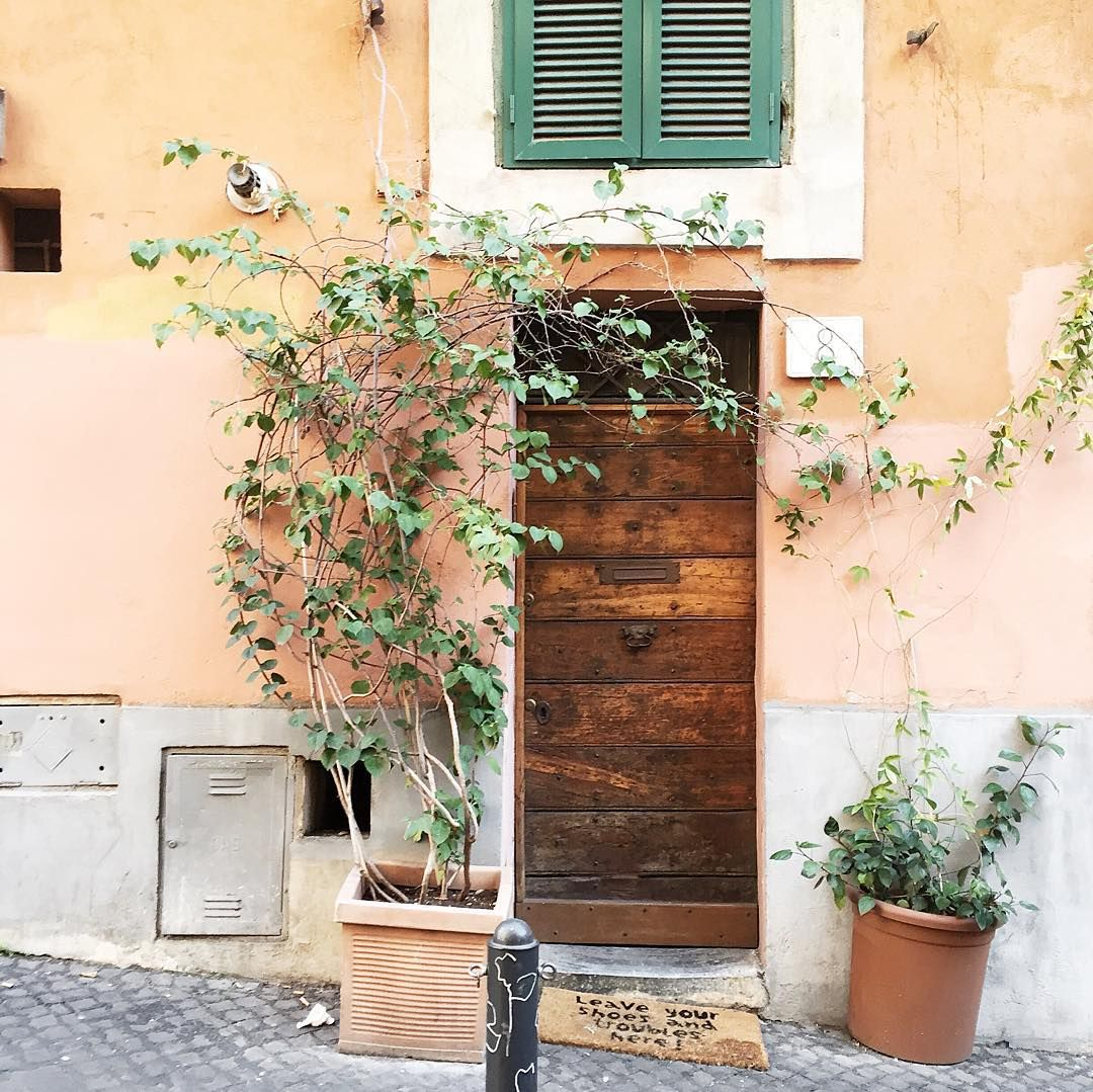 The doors of Rome  by parisinfourmonths on Instagram