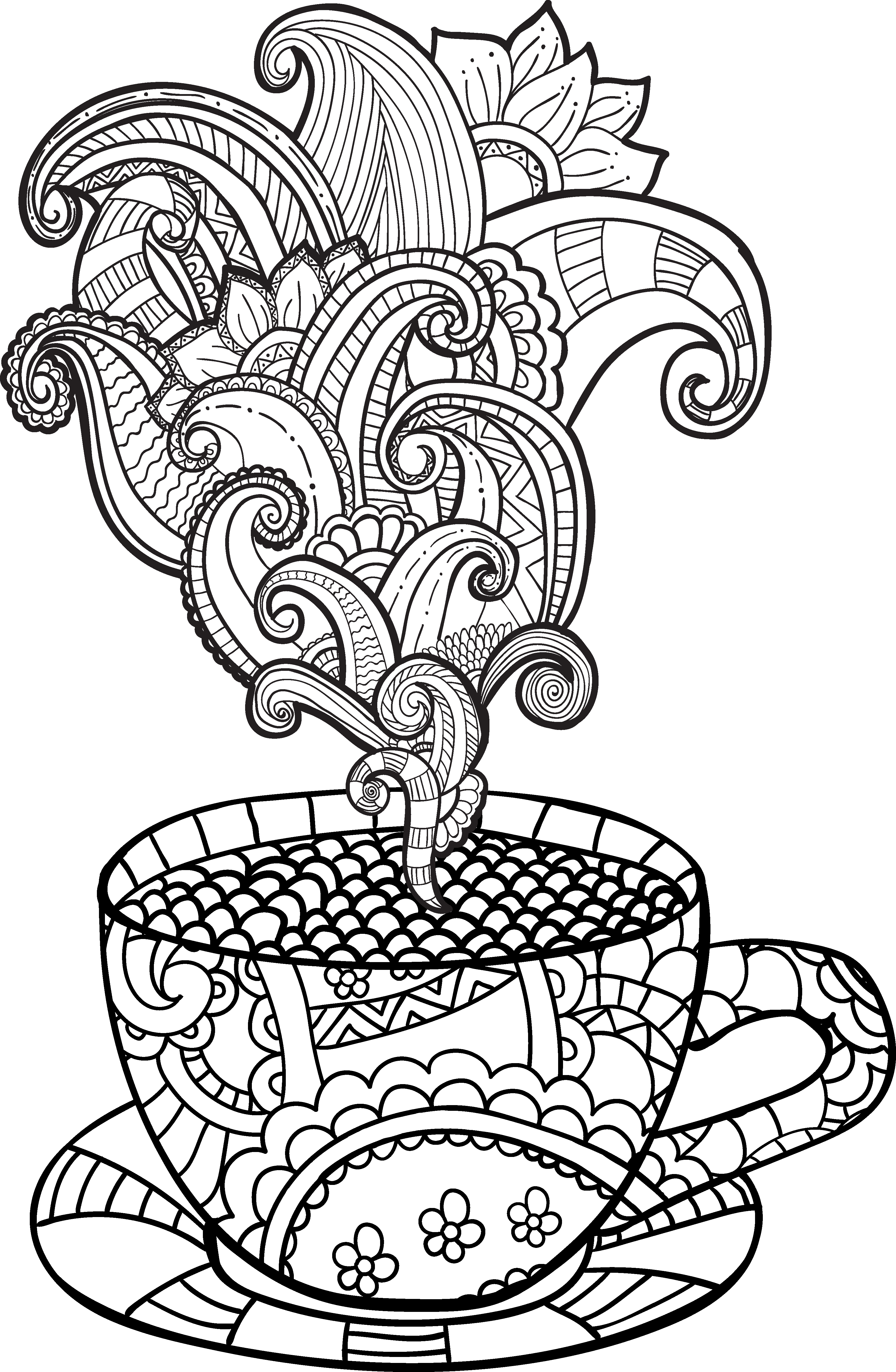 Imagem relacionada | Coffee ☕ | Pinterest | Ausmalbilder ...