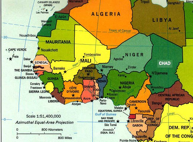 West Africa Look How Close Ghana Is To Liberia People - West africa map quiz