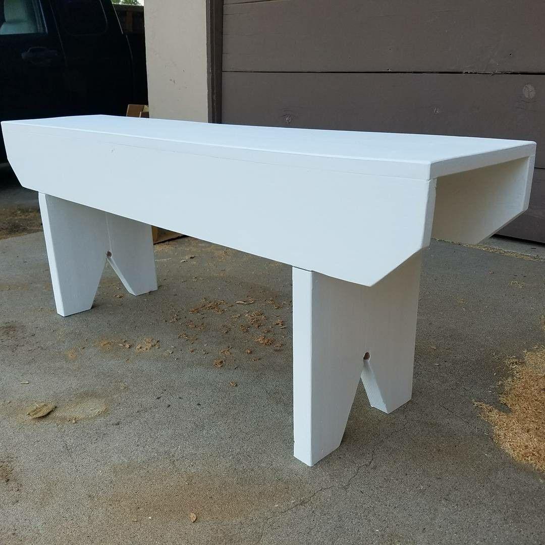 Farmhouse bench ft long u