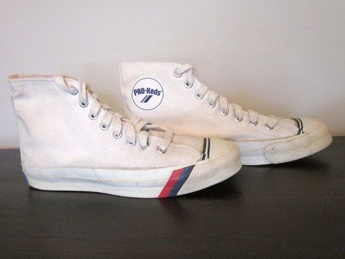 pro keds vintage sneakers with rubber