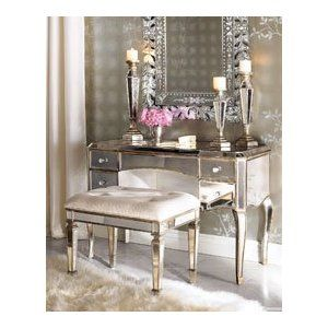 makeup vanity - so beautiful but not practical for my life!