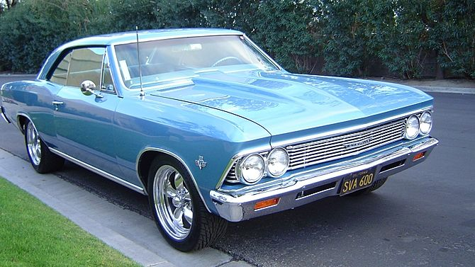 1966 Chevrolet Chevelle Fuel Injected 502 CI, New Suspension