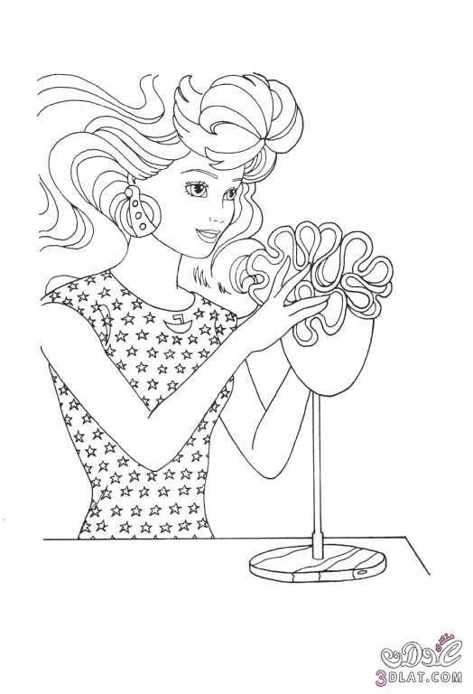 صور باربي للتلوين صور تلوين للأطفال صور عروسه باربي للتلوين Barbie Coloring Pages Barbie Coloring Coloring Pages
