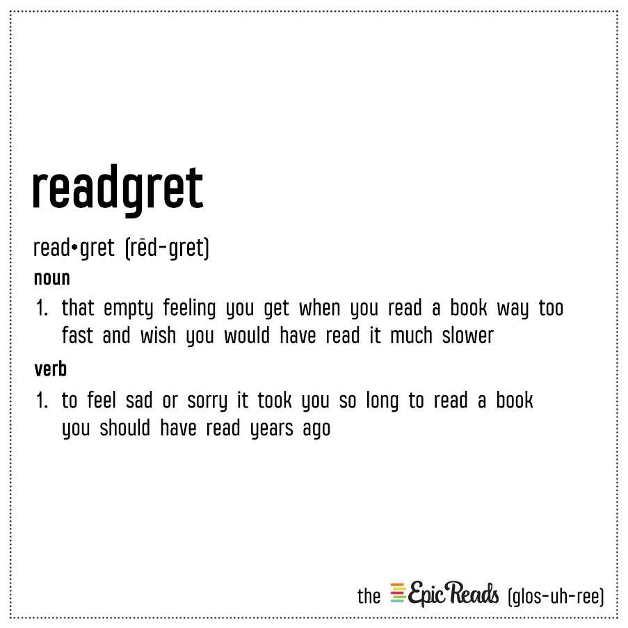 The Epic Reads Glossary Book Humor Book Nerd Problems Book Memes