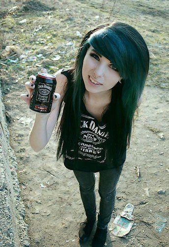 Awe Inspiring 1000 Images About For My Hair On Pinterest Black Emo Hair Emo Short Hairstyles Gunalazisus
