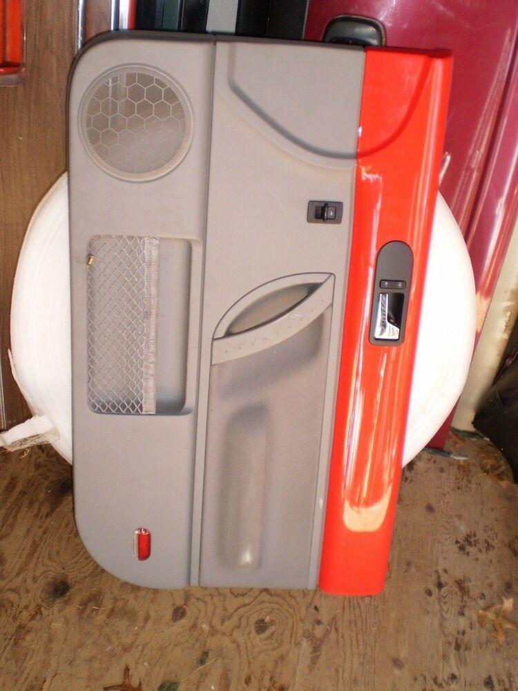 Rare Red Door Panel Right 98 10 Vw Volkswagen Beetle Hardtop Power Switch Oem Vw Vw Volkswagen Volkswagen Beetle Panel Doors