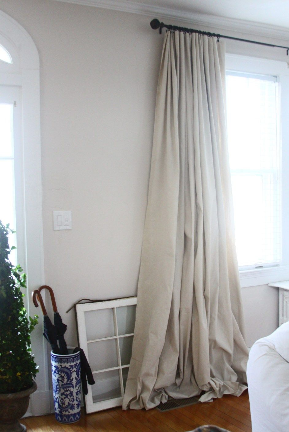 Dropcloth CurtainsIuve these makes for great coverage on tall