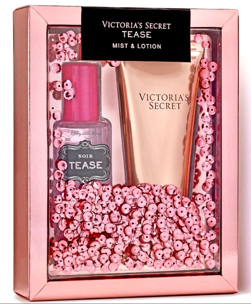 New victoria secret tease gift set lotion gift sets