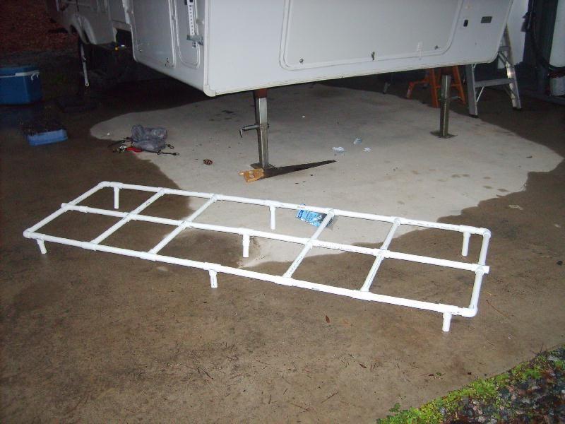 trailer slide topper fix for sagging slideout awnings trailer
