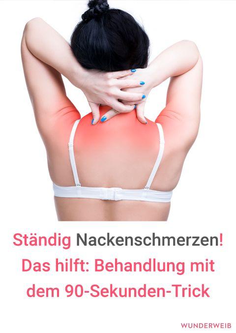 Steifer Nacken Behandlung Mit 90 Sekunden Trick Gesundheit
