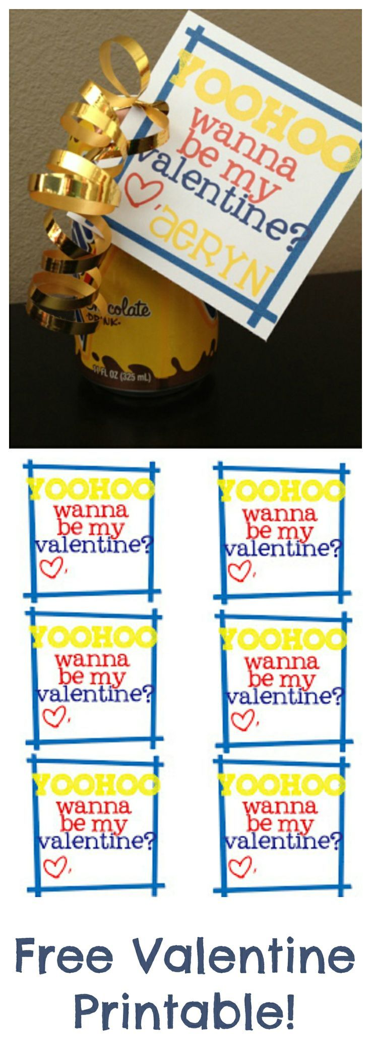 i have a crush on you soda can valentine free printable free