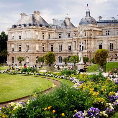 Luxembourg Gardens Paris My friends live across the street, on the opposite side of what is nor the French senate building..the gardens are a wonderful place to sit and watch daily life!
