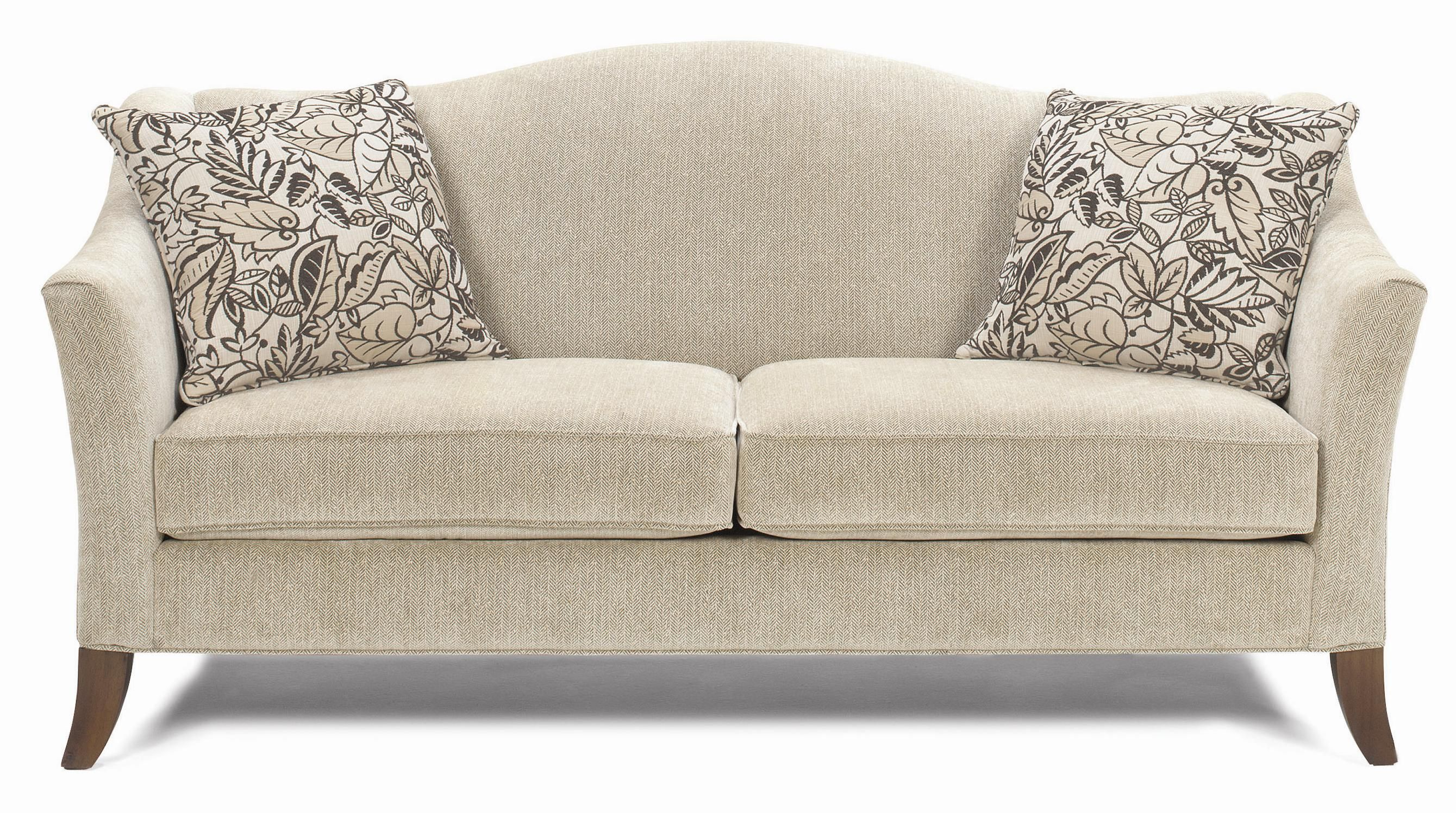 Living Room Couch. Ordered it in brown with burgundy flecks. Striped ...