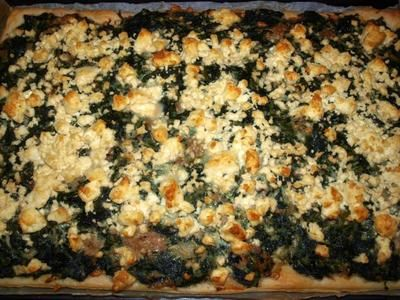 Rezept: Sardische Spinattorte         (Torta spinata alla sardo)