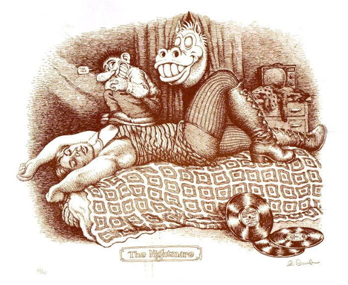 robert crumb - the nightmare