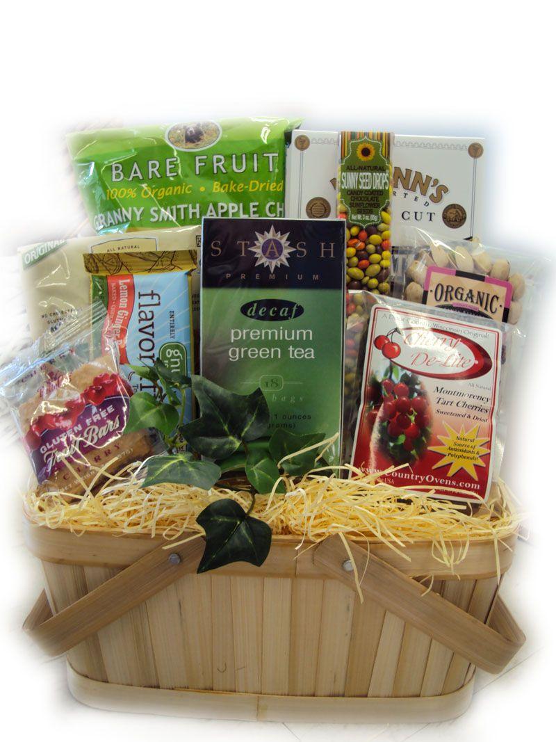 Heart health sampler basket healthy gift basket mother