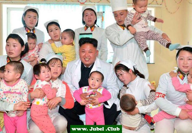 Kim Jong Un Besucht Kinderkrankenhaus Nordkorea Kinderkrankenhaus Lustig