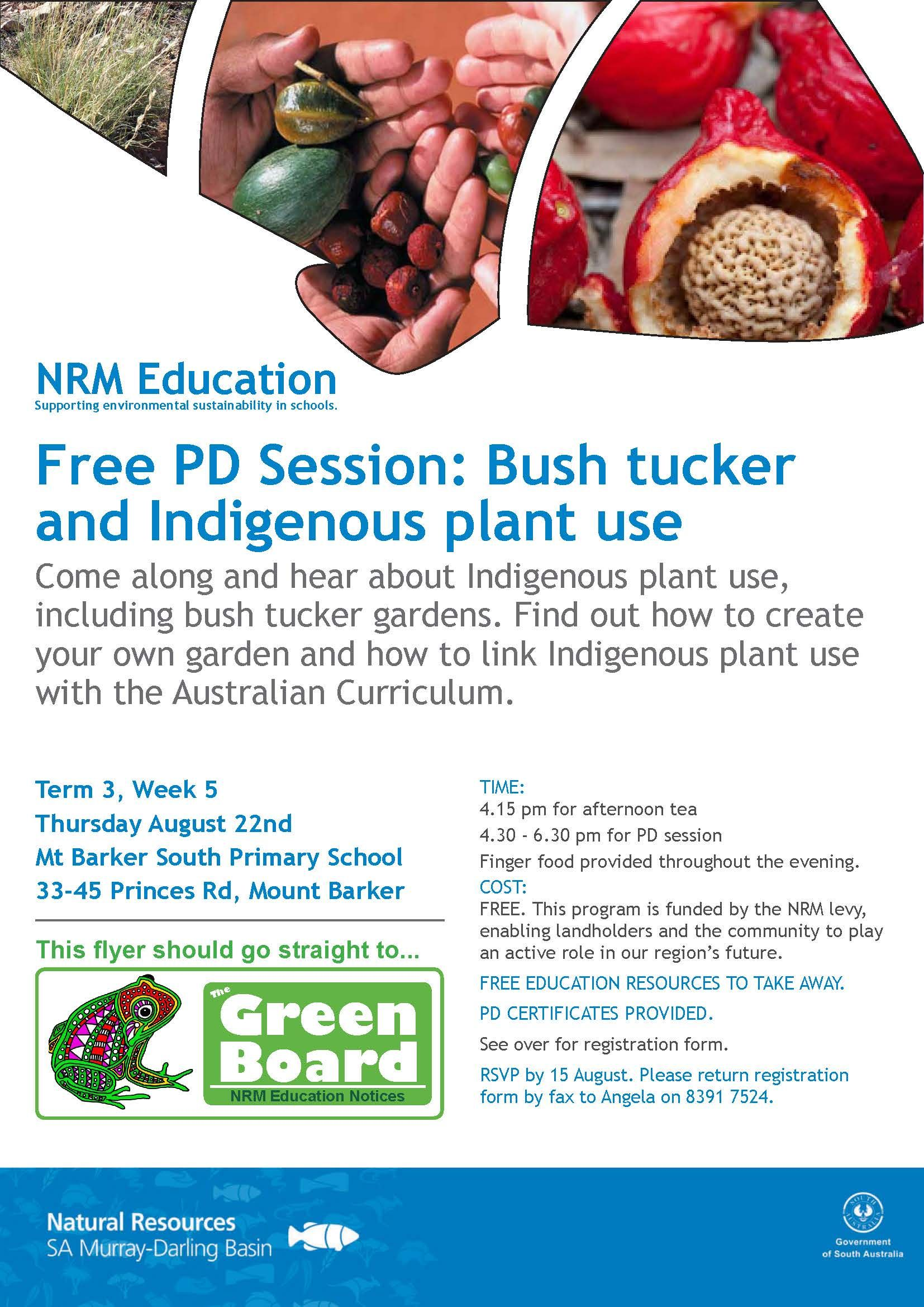 Bush Tucker And Indigenous Plant Use