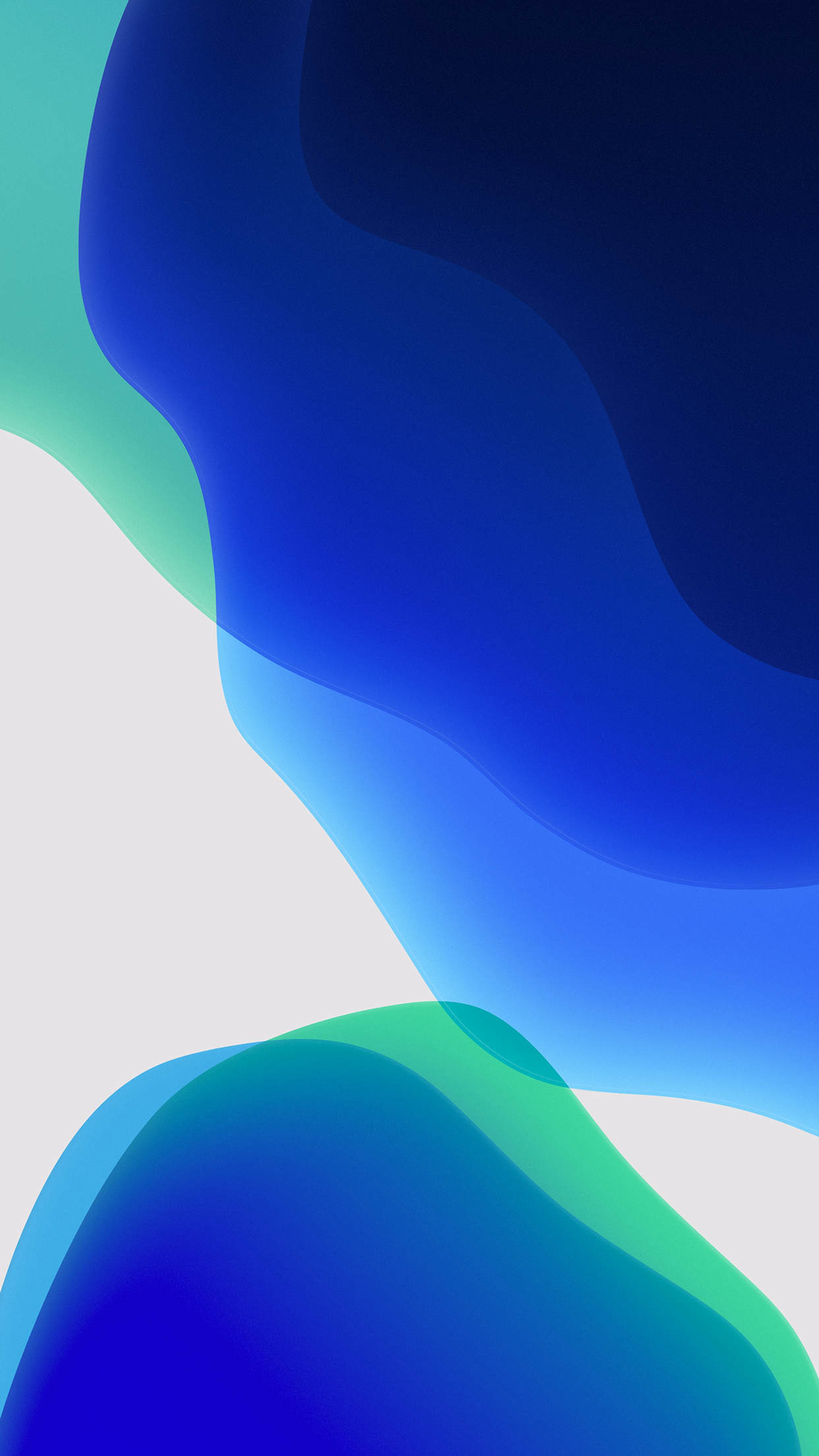 Wallpaper Ios 13 Ios13wallpaper Ios 13 Wallpapers Light Blue Dark Blue Ios13wallpaper Ios Wallpapers Stock Wallpaper Apple Ios