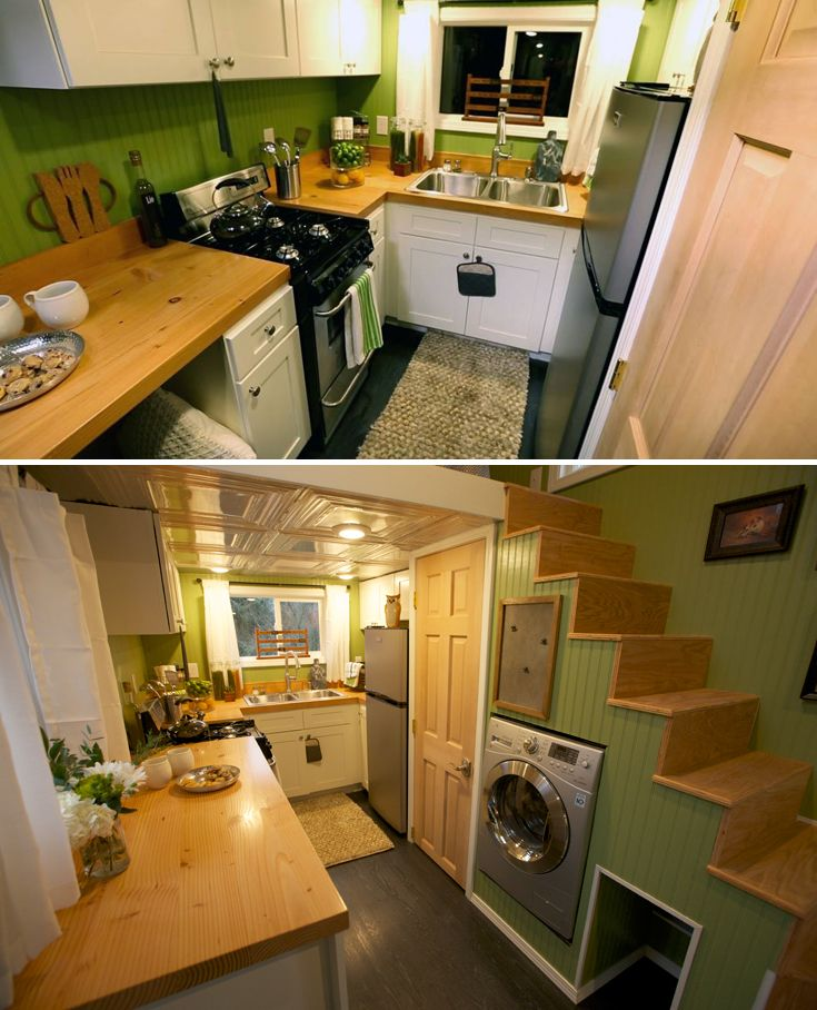 Beautiful Abodes Small Kitchen: Everett By American Tiny House