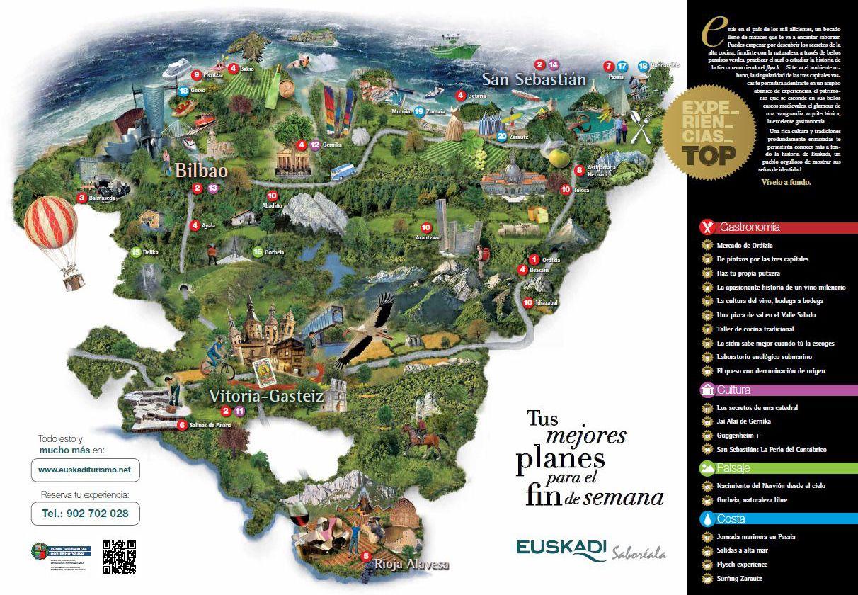 Resultado De Imagen De Mapa Costa Pais Vasco Pais Vasco