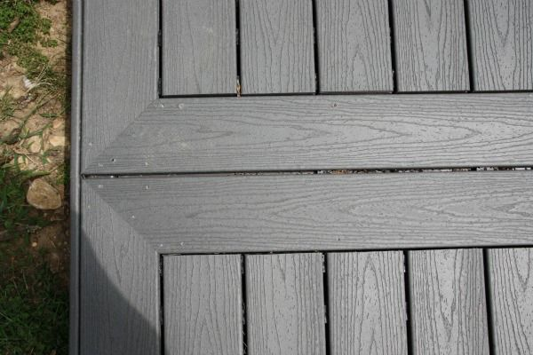 Picture frame deck edge ideas pinterest decking
