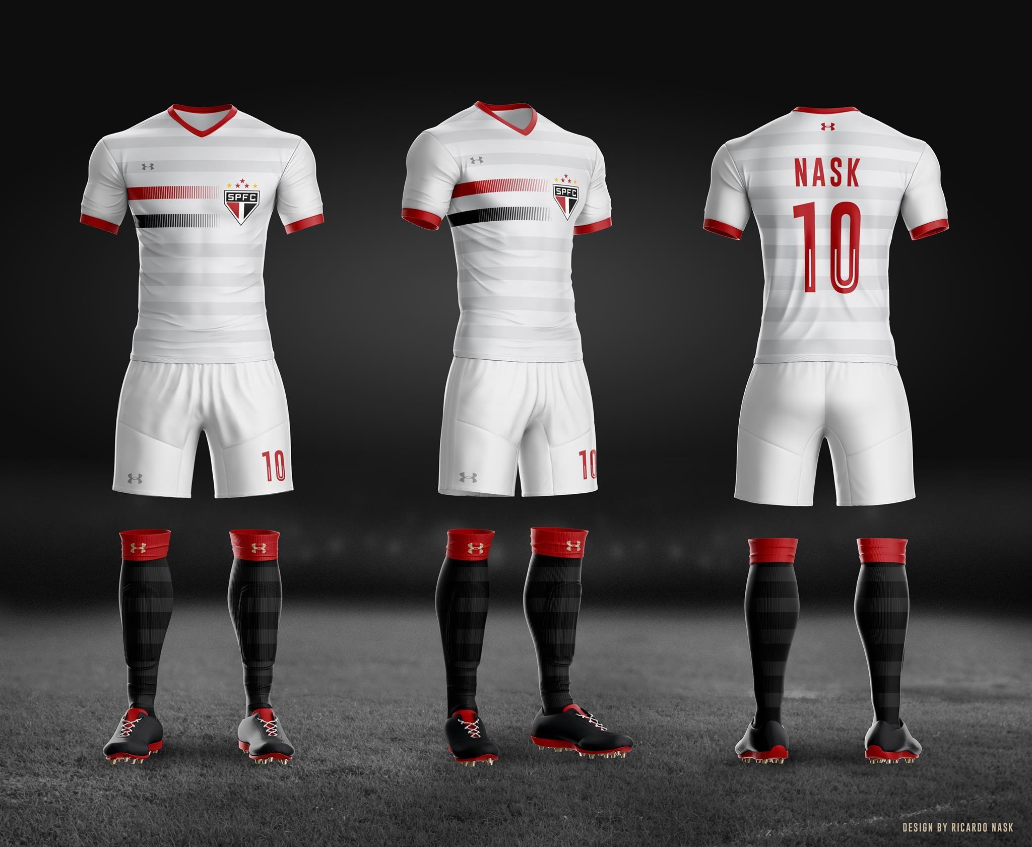 Leitor MDF  Camisas do São Paulo FC por Ricardo Nask  3a30d9f896388