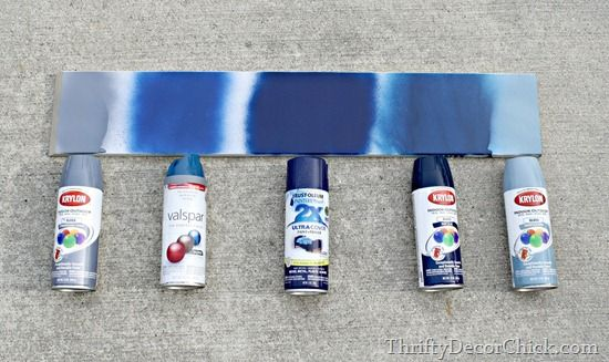 Helpful tips and tricks on how to use spray paint! #spraypainting