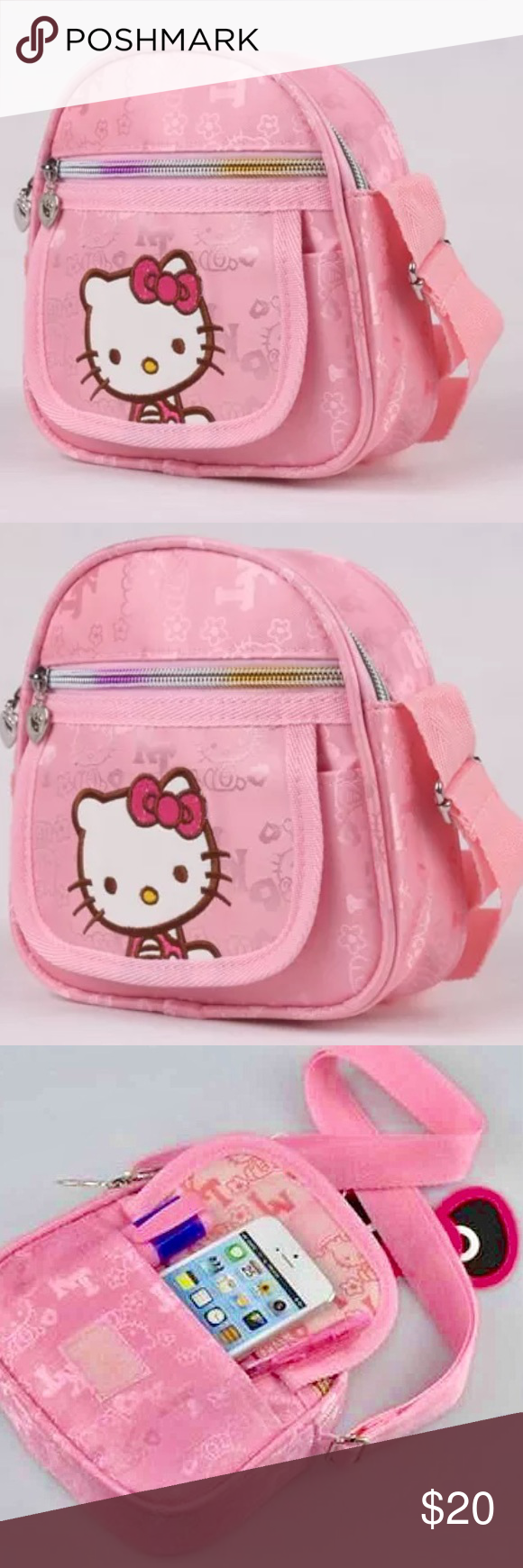 Small Hello Kitty Cute Pink Purse, For Girls Small Hello