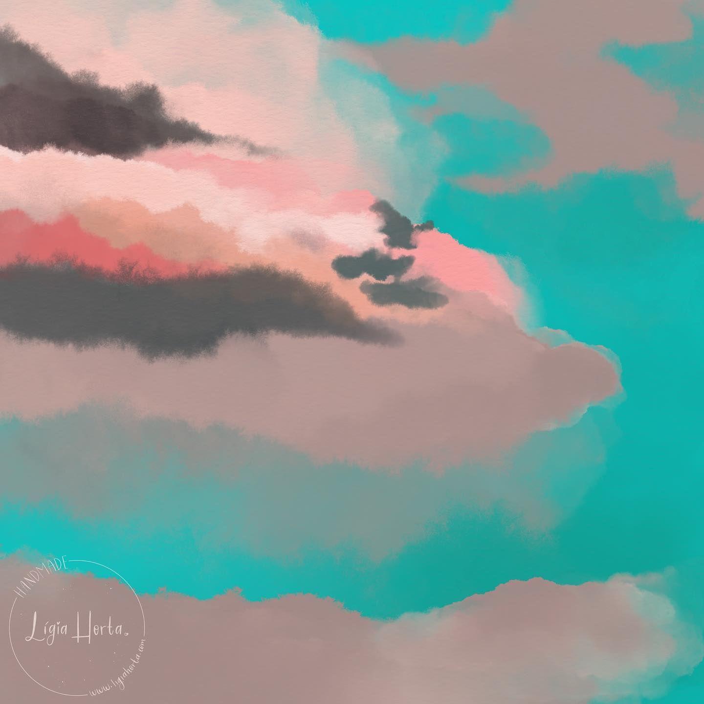 Last sky for my #zine  #digitalwatercolor      #painting #watercolor #aquarela #artist #paint #creative #illustrator #artoftheday #instaartist #watercolorillustration #watercolorpainting #watercolour