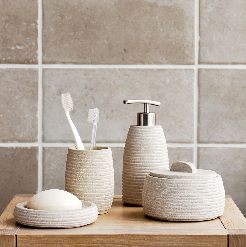 Etonnant Luxury Bathroom Accessories : Mint Sandstone Accessories John Lewis