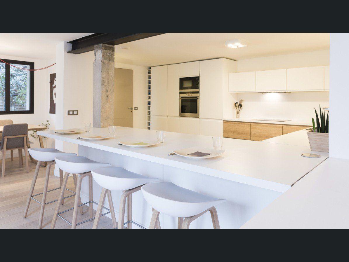 Cuisine Blanc / Beige / Naturel DELINIA