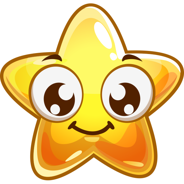 Smile Star Star Stickers And Smileys