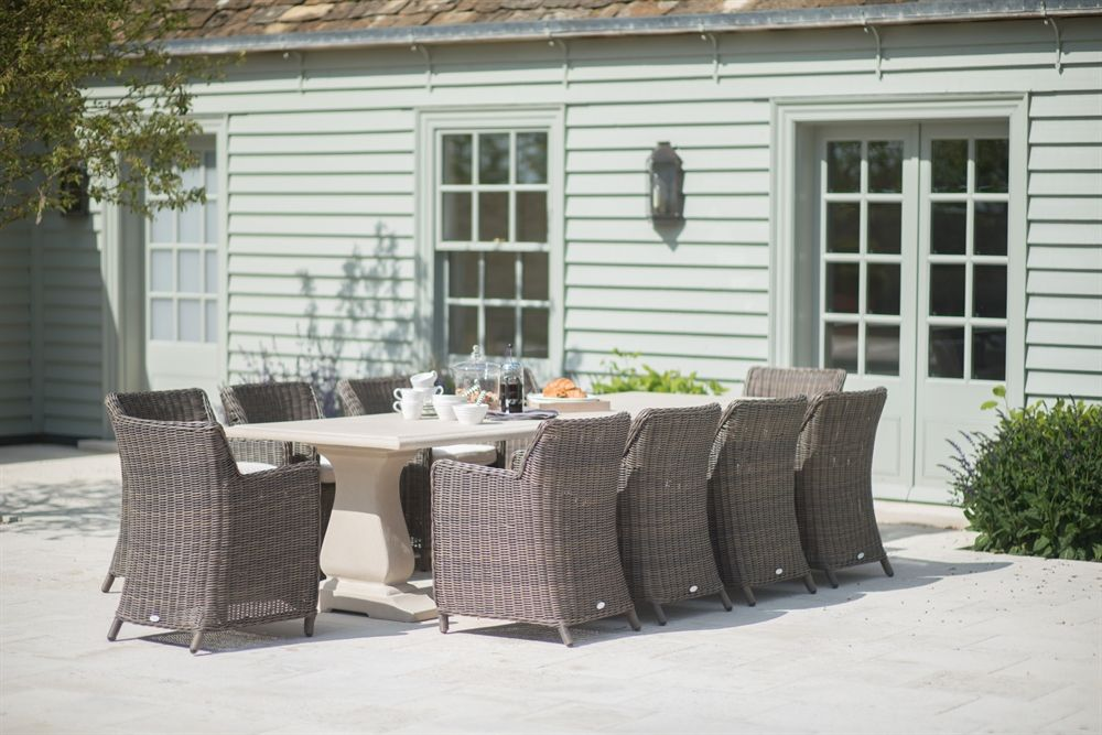 Charming Neptune Garden Garden Sets   Portland 10 Seater Set With Tuscany Chairs