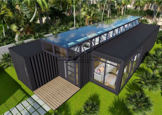 Hot Item 40ft Modified Modular Prefabricated Movable Shipping Container House Container House Design Container Design Container House