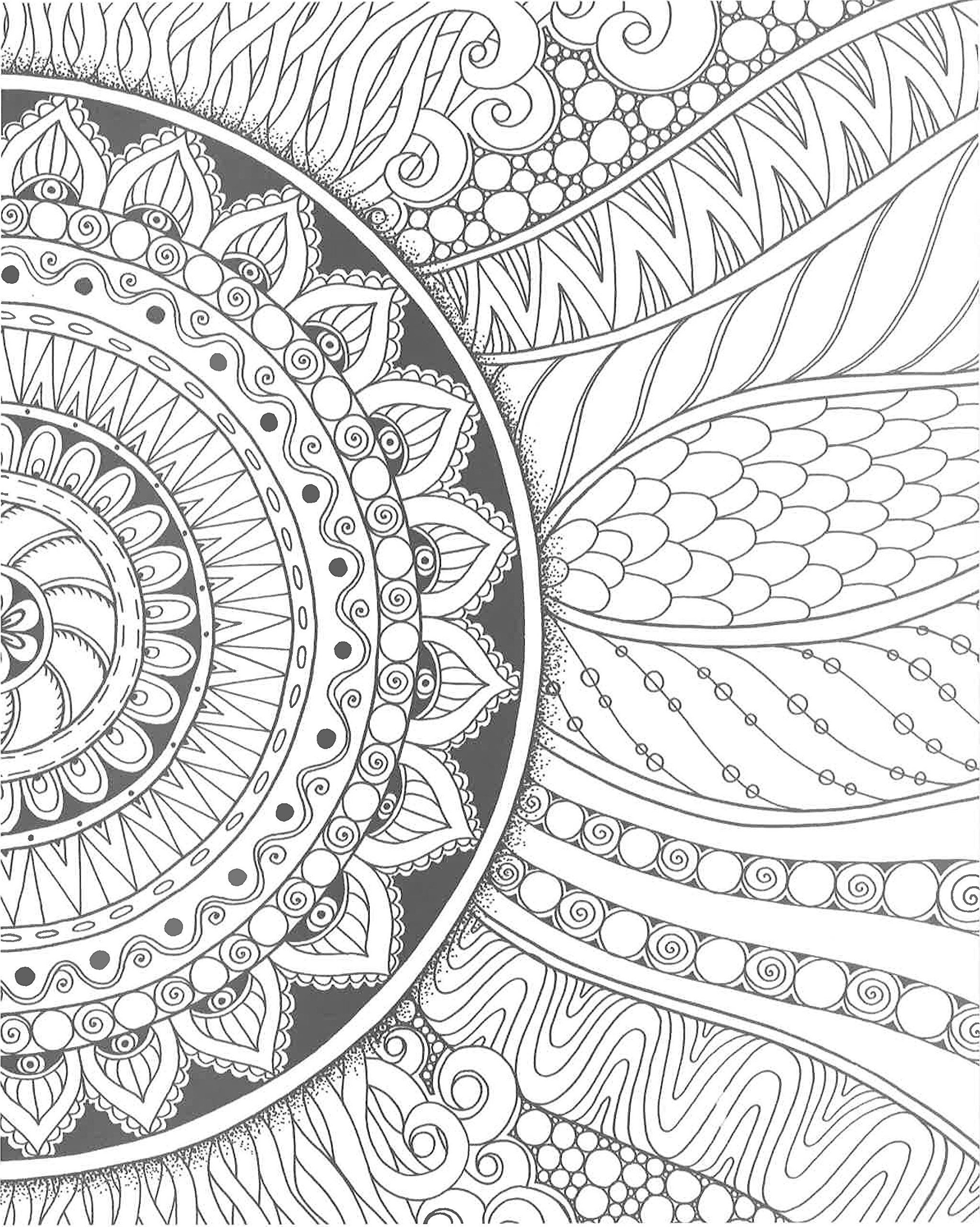Zendoodle Coloring Creative Sensations Hypnotic Patterns To Color And Display Julia Snegi Drawing Tutorial Easy Mandala Coloring Pages Easy Patterns To Draw