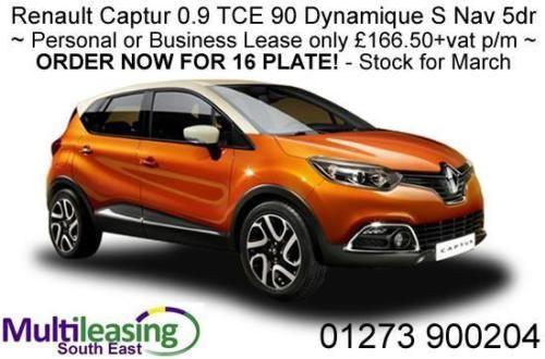 Stock Cars Renault Captur 0 9 Tce 90 Dynamique S Nav 5dr Free